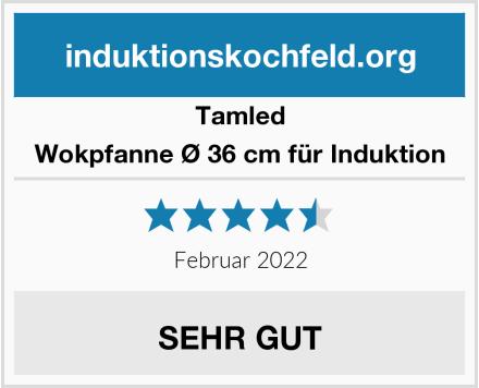 Tamled Wokpfanne Ø 36 cm für Induktion Test
