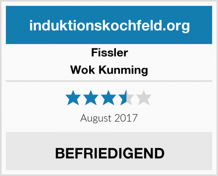Fissler Wok Kunming Test