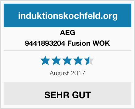 AEG 9441893204 Fusion WOK Test