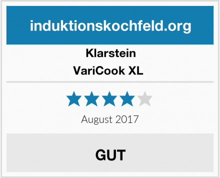 Klarstein VariCook XL  Test