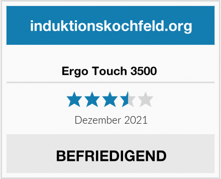 Ergo Touch 3500  Test