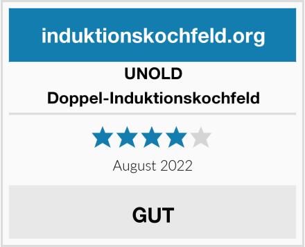 Unold Doppel-Induktionskochfeld Test