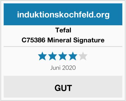 Tefal C75386 Mineral Signature Test
