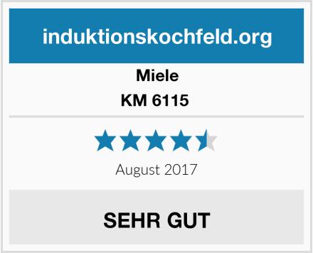 Miele KM 6115  Test