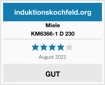 Miele KM6366-1 D 230 Test