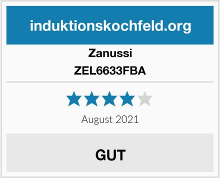 Zanussi ZEL6633FBA Test