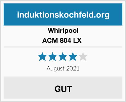 Whirlpool ACM 804 LX  Test
