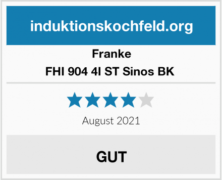 Franke FHI 904 4I ST Sinos BK  Test