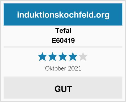 Tefal E60419 Test