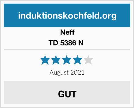 Neff TD 5386 N  Test