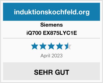 Siemens iQ700 EX875LYC1E Test