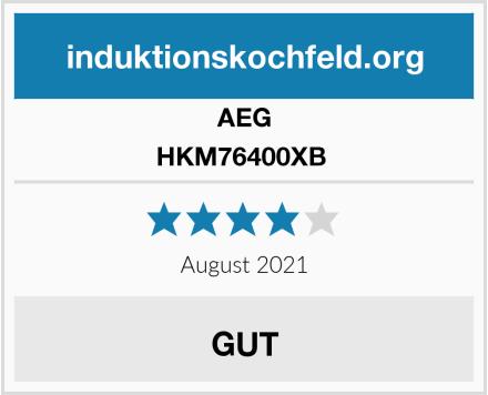 AEG HKM76400XB  Test