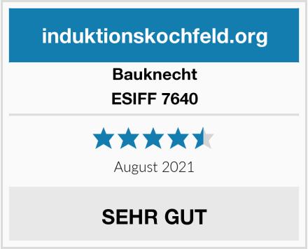 Bauknecht ESIFF 7640 Test