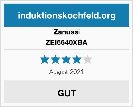 Zanussi ZEI6640XBA Test