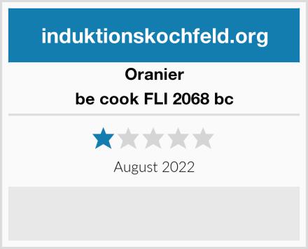 Oranier be cook FLI 2068 bc Test