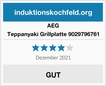 AEG Teppanyaki Grillplatte 9029796761 Test