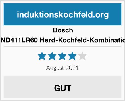 Bosch HND411LR60 Herd-Kochfeld-Kombination Test