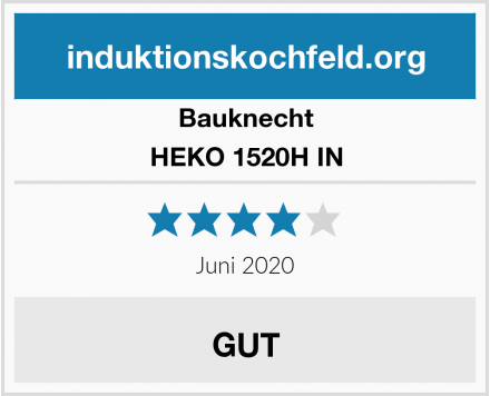 Bauknecht HEKO 1520H IN Test