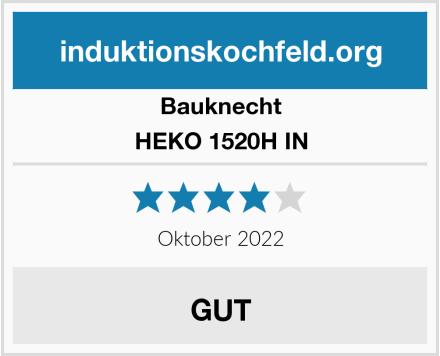 Bauknecht HEKO 1520H IN Test