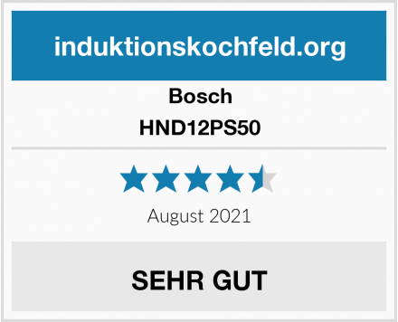 Bosch HND12PS50 Test