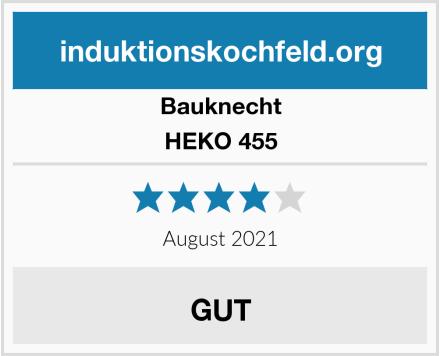 Bauknecht HEKO 455 Test