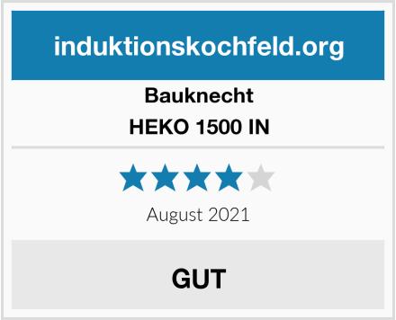 Bauknecht HEKO 1500 IN Test