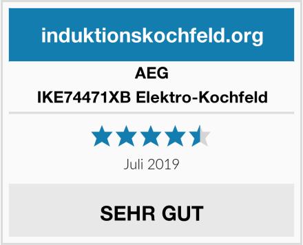 AEG IKE74471XB Elektro-Kochfeld Test