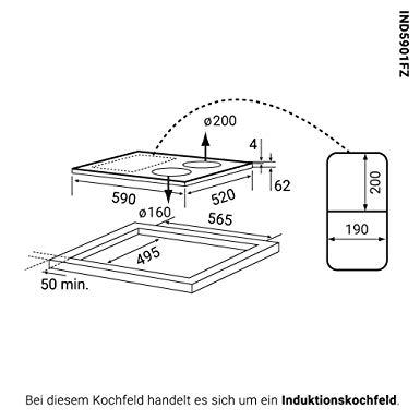 kkt kolbe eb8016ed induktionskochfeld test 2019. Black Bedroom Furniture Sets. Home Design Ideas
