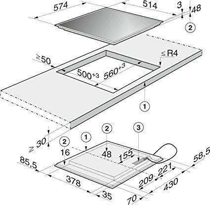 miele km 6112 induktionskochfeld test 2018. Black Bedroom Furniture Sets. Home Design Ideas
